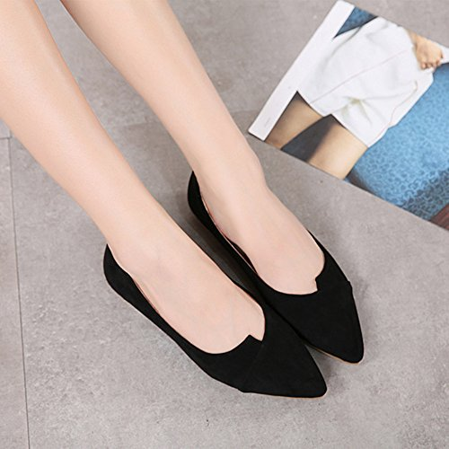 Fashion Flat Heel Pointed Bocca Sandals A Scarpe Summer LJO Womens Superficiale OUqwHxY