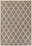 Cheap Couristan Monaco Collection Ocean Port Rug, Taupe/Sand, 7'6″ by 10'9″
