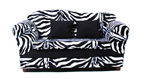 KEET Wave Kid's Sofa, Zebra