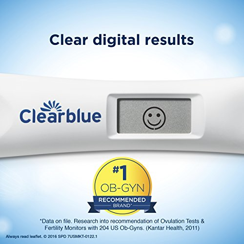 Large Product Image of Clearblue Advanced Digital Ovulation Predictor KIT, featuring Advanced Ovulation Tests with digital results, 20 ovulation tests (Packaging May Vary)