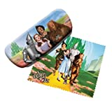 Wizard of Oz Dorothy Tinman Scarecrow Lion Emerald City eye sun glasses Eyeglass Storage Case & Cleaning cloth