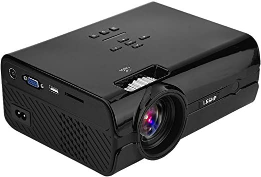 Vbestlife 16.7K Full HD 1080P Mini Proyector Portátil Video 1000: 1 ...