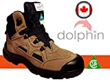 Best Safety Boots - Dolphin Women's CSA Approved Safety Shoes, Work Boots Review