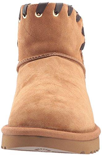 chestnut Australia Aidah Women''s W Boots Mini Snow Che Beige Ugg 8aqHq