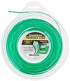 Maxpower 332280 Square Cut Commercial Grade Trimmer Line, Green, Medium