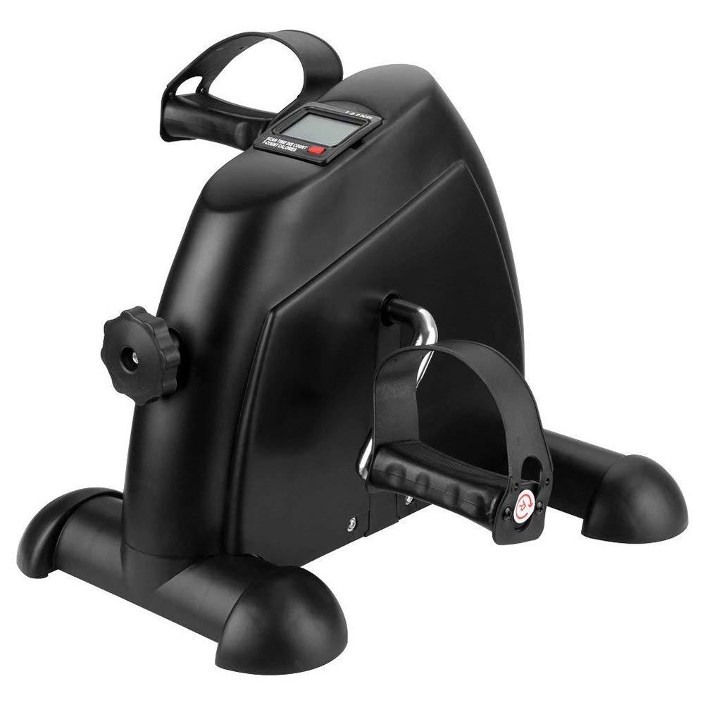 RXRENXIA F-Bike und F-Rider Mini Fahrrad Pedaltrainer für Arm- und Beintrainer Heimtrainer mit LCD-Monitor