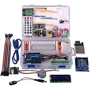 kuman for Arduino Project Complete Starter Kit with Detailed Tutorial and Reliable Components for UNO R3 Mega 2560 Robot Nano breadboard Kits
