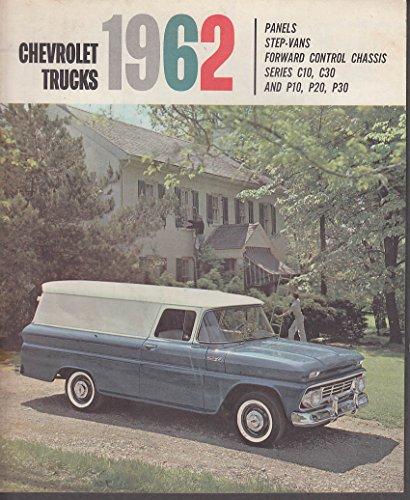 - 1962 Chevrolet Truck Catalog Panel Step-Van FC C10 C30 P10 P20 P30