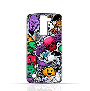 LG K7 TPU Silicone Case with Funky Seamless Freak Texture