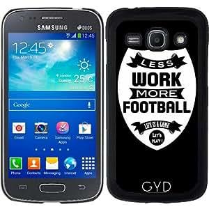 Funda para Samsung Galaxy ACE 3 S7272/A7275 - Menos Trabajo Más Fútbol by wamdesign