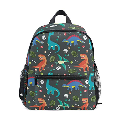 - Dinosaur Bone Kid Backpack School Bag Bookbag Children Travel Daypack Girl Boy 3-8 Years Old Toddler Preschool