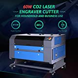Orion Motor Tech 60W CO2 Laser Engraver Cutter 20 x