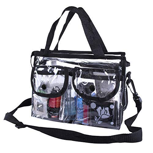 Premium Clear Makeup Organizer PVC Toiletry Bag 10