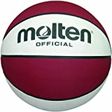 Molten Premium Rubber Basketball (Maroon, Intermediate/Size 6) For Sale