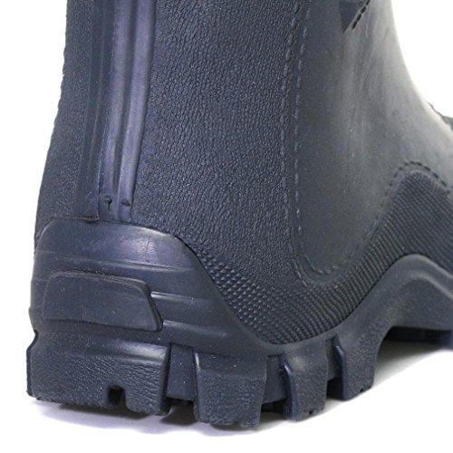 Manbi Boot Dunkelblau Stiefel Jungen Kids Navy Warm Splash Blau Welly Manbi SwUqZZx