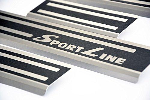 alunox-Carbon Sill con piega porta schweller VS di Sport
