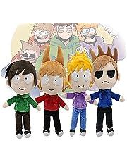 Eddsworld Plush,Tom/Matt/Tord/EDD Eddsworld Plush Soft Pillows for Animation Fans