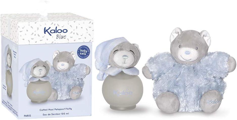 Kaloo - Blue Estuche Maxi Fluffy/Fragancia para bebé, 100 ml (K893168): Amazon.es: Belleza