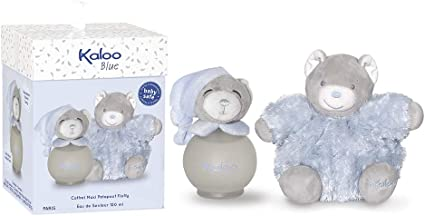 Kaloo - Blue Estuche Maxi Fluffy/Fragancia para bebé, 100 ml (K893168): Amazon.es: Belleza