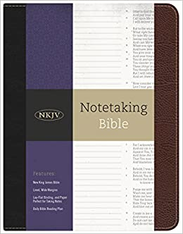 NKJV Notetaking Bible: Holman Bible Staff: 9781433643040: Amazon com