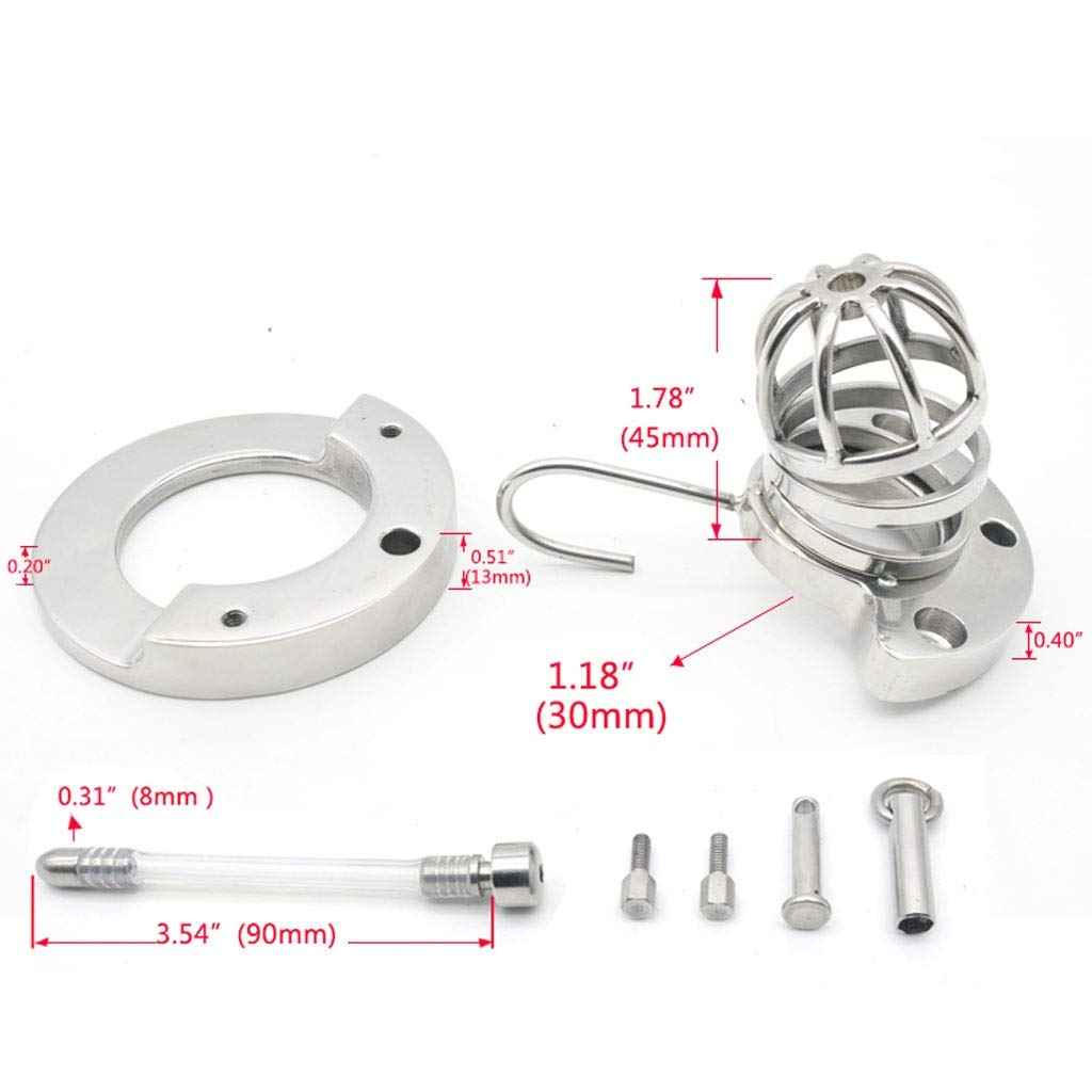 CXQ Fun Stainless Steel Game Massǎge Health Care Chicken Cage Toy (Size : 40mm) by CXQ (Image #1)