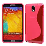 CoversFromUs S LINE WAVE TPU GEL Cover Case for Samsung Galaxy Note 3 / III N9000 (Princess Pink)