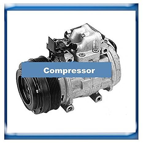 GOWE compresor para Denso 10p15 C Compresor para Mercedes Benz W124 W126 0031317001 0002302411 247100 - 5910 0472003577: Amazon.es: Bricolaje y herramientas