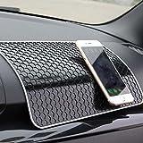 Ancdream Non-slip Pad / Mat Magic Stick for fixing Car Small Accessories / Cellphone / Decorative Stuff Size 28 x 17 cm - Black Nest Style