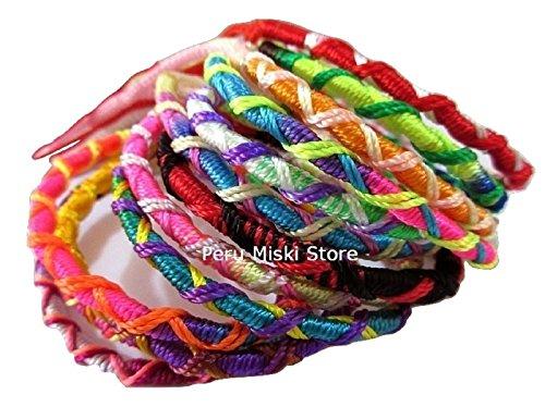 Friendship Bracelets 36 (#3736-36 School Friends Love Friendship Fundraiser Bracelets Wholesale Pack Lot)