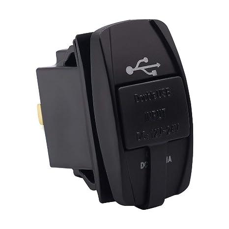 Greatangle Enchufe de Cargador USB Universal para Coche con ...