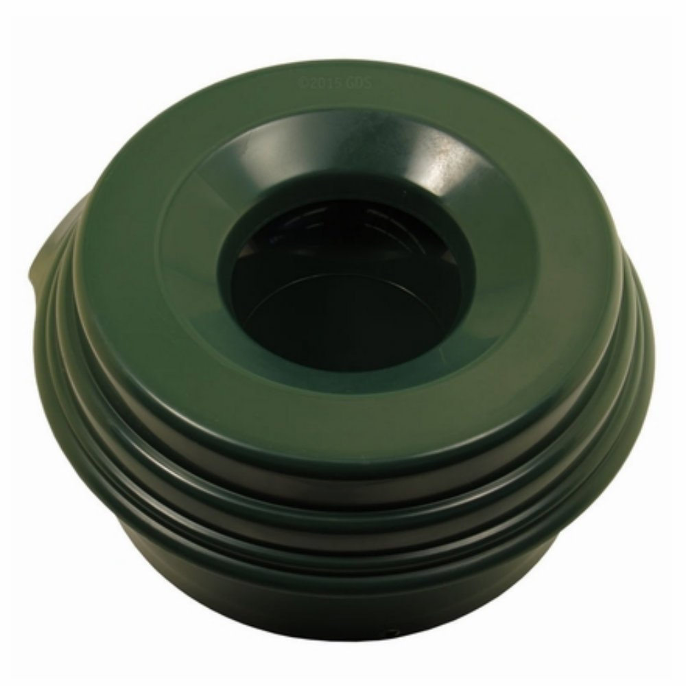 Buddy Bowl Spill Proof Water Bowl for Small, Medium and Large Dogs Spill Proof Water Bowl, Spill Proof Dog Water Bowl - 64 oz. (Hunter Green) by Buddy Bowl