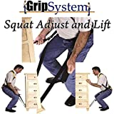 Moving Straps From Grip System Lifting Straps Large Black