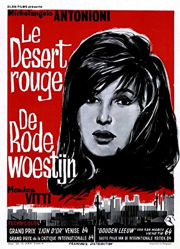 Amazon.com: Red Desert (Belgian ) POSTER (11\