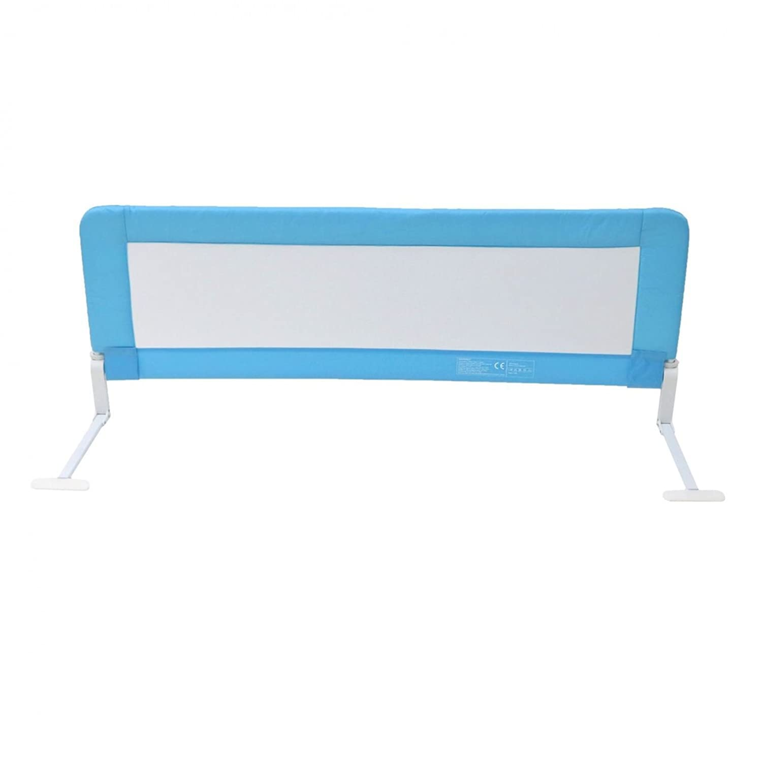 Oypla 150cm Blue Baby Child Toddler Bed Rail Safety Protection Guard
