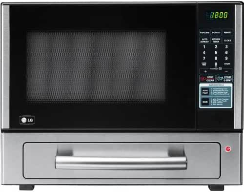 LG LCSP1110ST 1.1 Cu Ft Counter Top Combo Microwave and Baking Oven, Stainless Steel