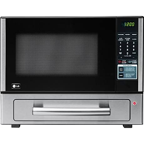 LG LCSP1110ST 1 1 Cu Ft Counter Top Combo Microwave And Baking Oven Stainless Steel