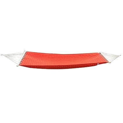 Slack Jack Luxury SJ-BWH-36-ORANGE Fabric Hammock (Orange)