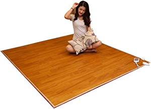 LCC Heat Pad Carpet Floor Heating, Electrically Adjustable Heating Magic Carpet, Multipurpose Far Infrared Heated Carpet, Heated Mat