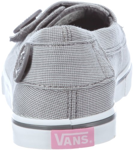 Vans Ashland Gris Blanc Chaussures Femmes Taille 10