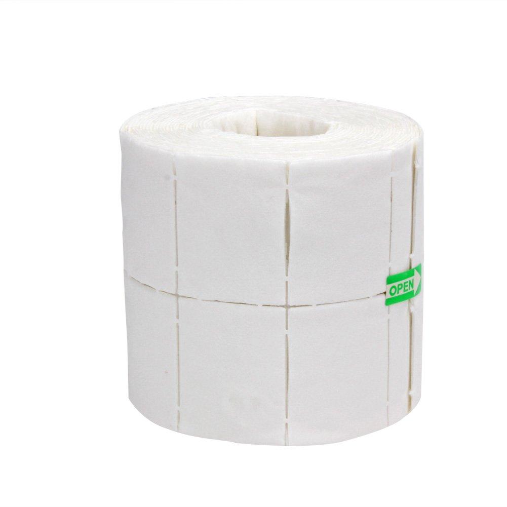 Demiawaking Salviette per Unghie in Cotone Rimozione Smalto per Unghie Cotone Detergente Pulitore di Chiodo (500pcs)