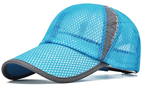 ELLEWIN Summer Baseball Cap Quick Dry Cooling Sun Hats Flexfit Sports Caps Mesh Hat for Golf Cycling Running Fishing