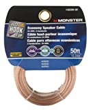 Monster Cable Speaker Wire 50 ' L Card