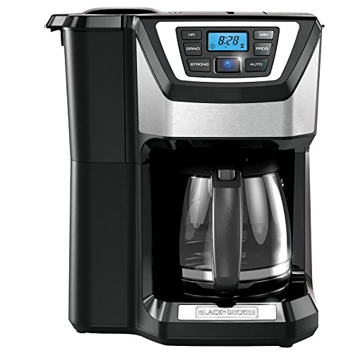 BLACK + DECKER CM5000BD Cafetera de Molino Integrado, color negro
