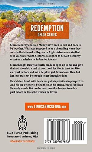 Redemption Delos Series 10B1 Amazoncouk Lindsay McKenna 9781929977673 Books