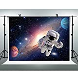 Astronauts Explore the Universe Backdrops for Photography 7x5ft FHZON Broad Wonderful Solar System Background Astronomy Enthusiast Newborn Photography Props Banner Wallpaper LXFH198