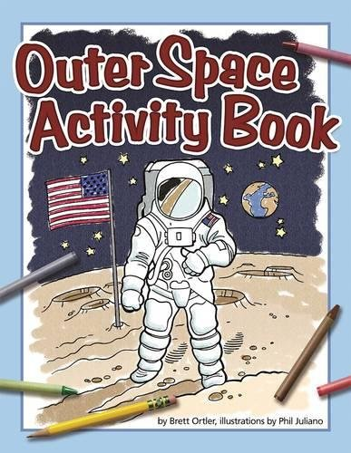 Outer Space Activity Book (Color and (Space Activities For Kids)