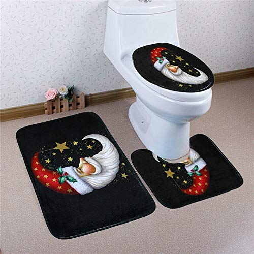 ANJUYA 1 SetFoot Pad Seat Cover Non-Slip Bathroom