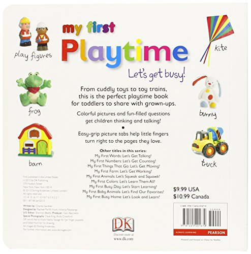 tabbed board books my first playtime dk publishing