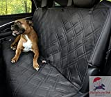 Dog Bed with Washable Cover - Non-Slip Backing Wide Bench Car Seat Protector. Machine Washable & A Lifelong Promise. 57