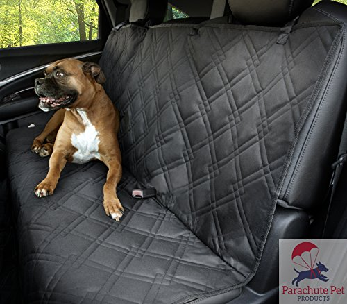 "Non-Slip Backing Wide Bench Car Seat Protector. Machine Washable & A Lifelong Promise. 57""L x 55""W. Also Available With Middle Seat Removable Zipper"